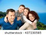 family. | Shutterstock . vector #437230585