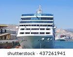 piraeus  greece   may 27  2013  ... | Shutterstock . vector #437261941