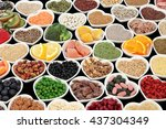 large health and body building...   Shutterstock . vector #437304349