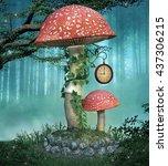 Fairies Mushroom   3d...