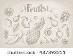 vector illustration. set of...   Shutterstock .eps vector #437393251