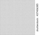 seamless polka dot pattern | Shutterstock .eps vector #437406385