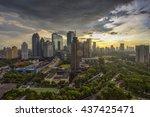 jakarta officially the special... | Shutterstock . vector #437425471