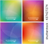 abstract creative concept...   Shutterstock .eps vector #437427274