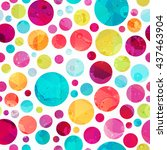 Bright Circle Seamless Pattern