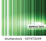 abstract background. green... | Shutterstock .eps vector #437473249