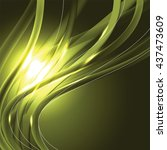 abstract shiny background.... | Shutterstock .eps vector #437473609