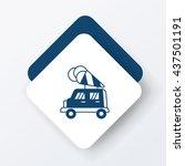 ice cream car icon | Shutterstock .eps vector #437501191