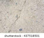 crack concrete texture... | Shutterstock . vector #437518501