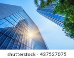 Modern Office Building With...