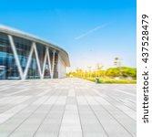 railway station of changzhou... | Shutterstock . vector #437528479