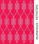 vector pattern with art...   Shutterstock .eps vector #437547391