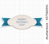 happy fathers day special...   Shutterstock .eps vector #437560441