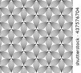 vector seamless pattern.... | Shutterstock .eps vector #437576704