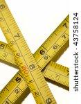 tape measures | Shutterstock . vector #43758124