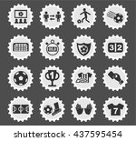 football web icons for user... | Shutterstock .eps vector #437595454