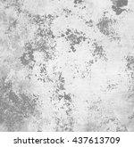 grunge gray paper texture ... | Shutterstock . vector #437613709