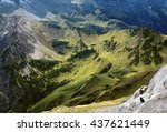 Small photo of View on alp (Alps/Karwendel)