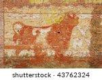 Old Bull Durham Wall Art On Th...