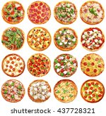 Set Of Different Pizzas...