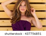 beautiful woman | Shutterstock . vector #437756851