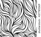 seamless vector fabric pattern... | Shutterstock .eps vector #437785369