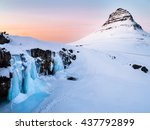 Kirkjufell Rock In The Winter...