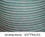 green rope. | Shutterstock . vector #437796151