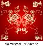 paisley vintage | Shutterstock .eps vector #43780672
