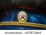 Military Cap Of The Soviet...