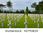 White Crosses At The American...