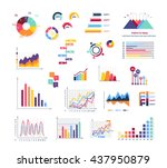 data tools finance diagram and... | Shutterstock . vector #437950879