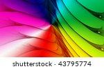 rainbow background for modern... | Shutterstock . vector #43795774