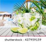mojito. | Shutterstock . vector #437959159