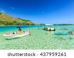 papeete  french polynesia  ... | Shutterstock . vector #437959261