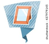 photoframe colorful icon | Shutterstock .eps vector #437979145