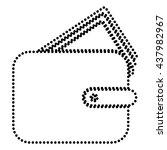 wallet sign illustration | Shutterstock .eps vector #437982967