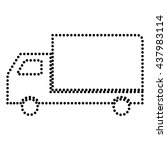 delivery sign illustration | Shutterstock .eps vector #437983114