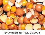 broken eggs | Shutterstock . vector #437986975