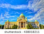 hdr image parliament | Shutterstock . vector #438018211