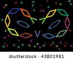 colors for the carnival | Shutterstock . vector #43801981