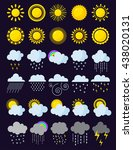 Mega Pack Of Weather Icons Sno...