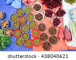 fresh vegetables | Shutterstock . vector #438040621