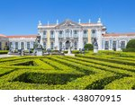 national palace in  queluz... | Shutterstock . vector #438070915