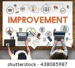 academic knowledge improvement... | Shutterstock . vector #438085987