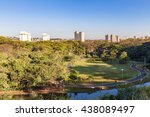 Ribeirao Preto city park, aka Curupira Park. The city is located in Brazil country side. Sao Paulo state.