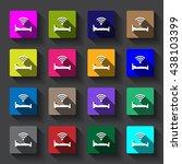 wifi icon | Shutterstock .eps vector #438103399