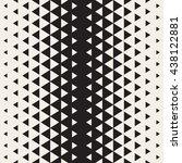 vector seamless triangle... | Shutterstock .eps vector #438122881