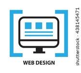 web design  icon and symbol