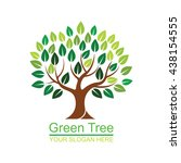 logo tree 4 | Shutterstock .eps vector #438154555